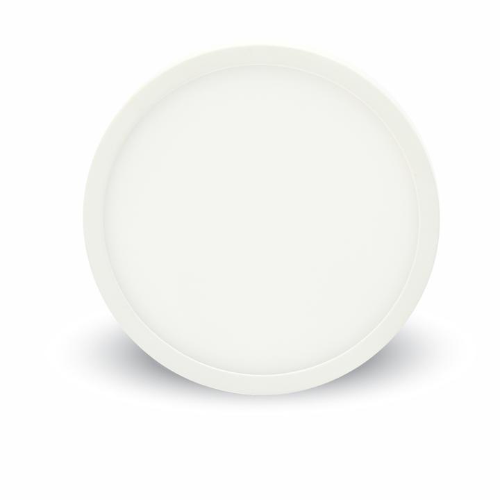 V-TAC 18w pannello led montato superficie premium rotondo bianco freddo 6000k