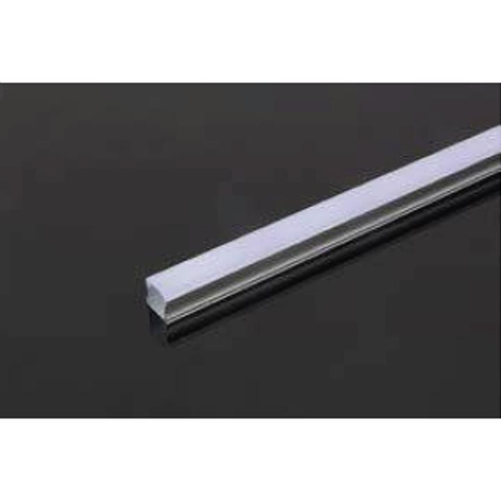 V-TAC Profilo in alluminio 2m 17.2 x 15.5 mm white housing