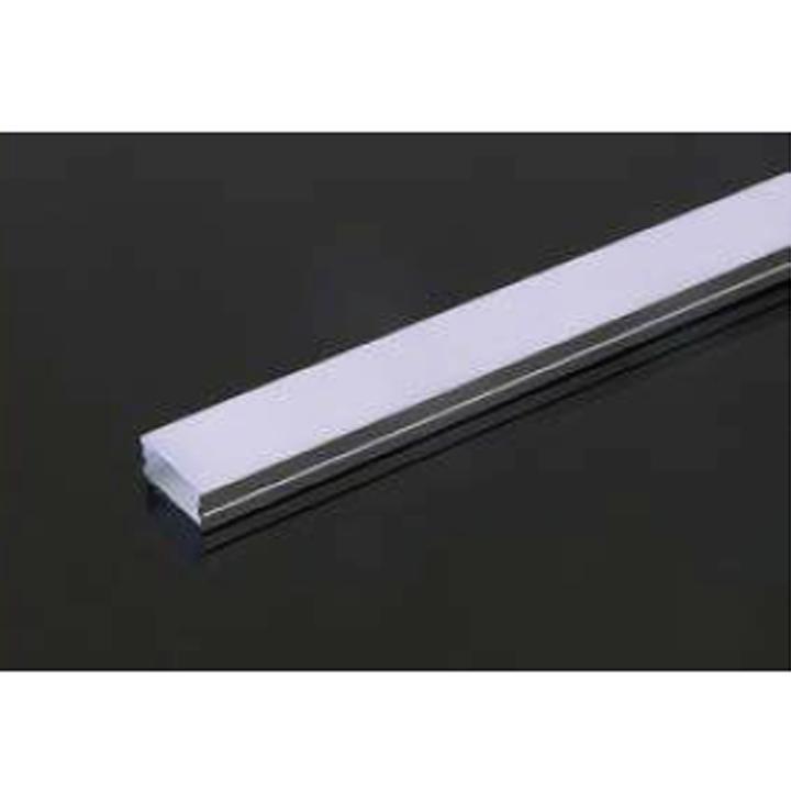 V-TAC Profilo in alluminio 2m 23.5 x 10 mm white housing