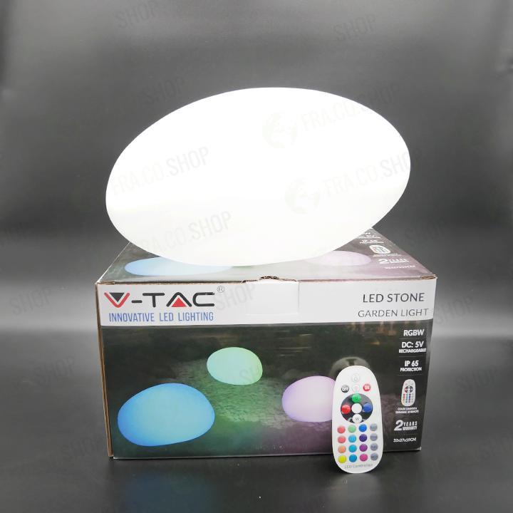 V-Tac Sasso lampada LED MULTICOLOR RGB VT-7804 con potenza di 1W