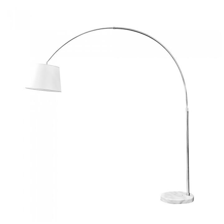 V-TAC Piantana Lampada Led floor lamp e27 ivory lamp shade