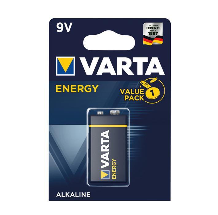 Batteria 9v blister 1pz batterie alcaline varta energy