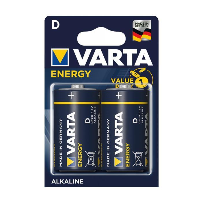 Batteria Lr20 blister 2pz torcia batterie alcaline varta energy