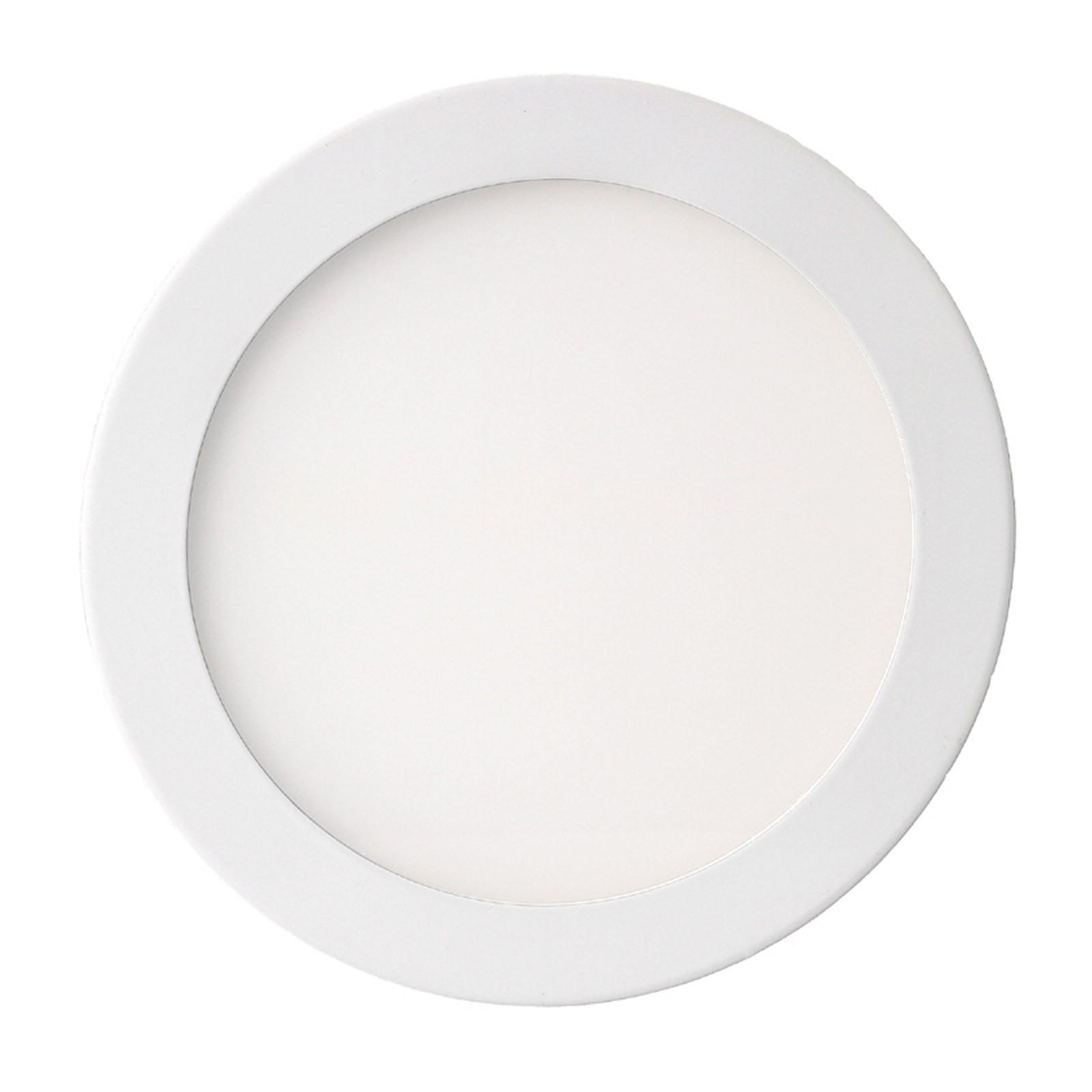 Faro faretto pannello led luce bianca calda 25 watt for Luce bianca led
