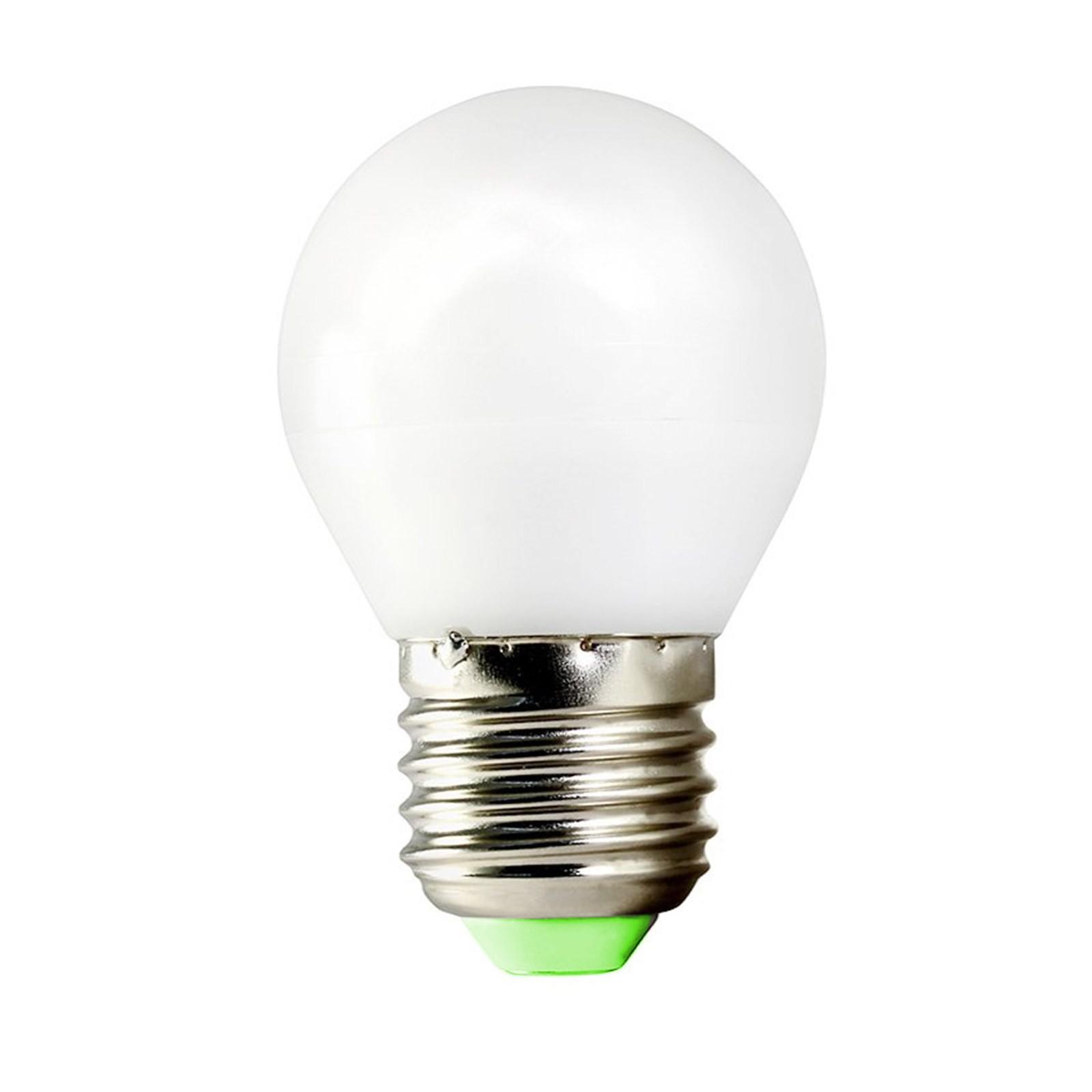 Lampada lampadina led attacco e27 5 w mini sfera luce for Lampada led lunga