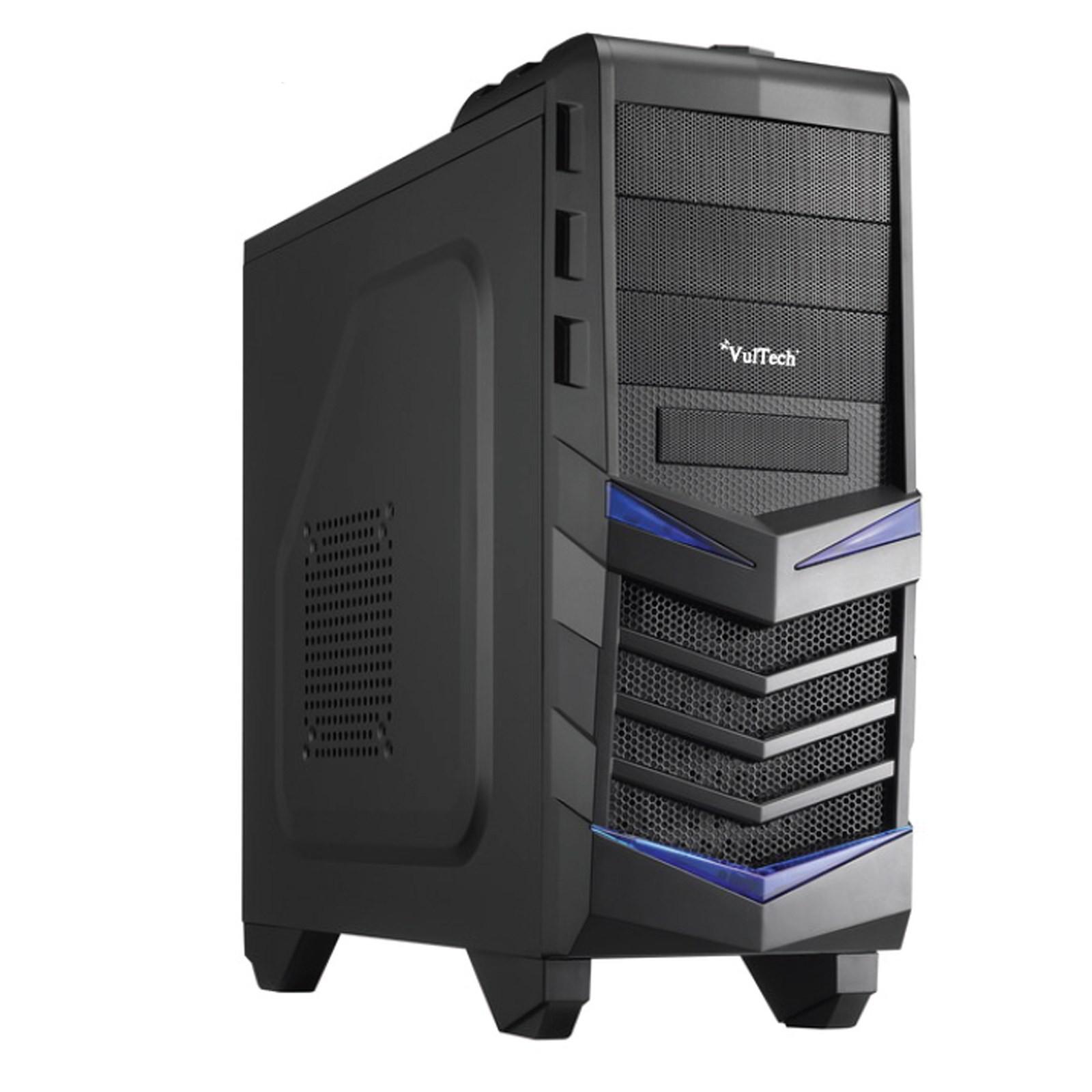 CASE CABINET PER PC DESKTOP GAMING ATX VULTECH ATX OBLIVION COMPUTER GS-0787 NEW