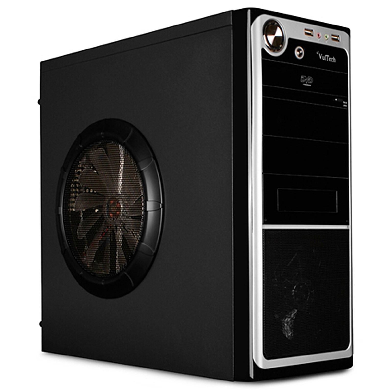 Case Pc Desktop Gaming ATX MICRO Cabinet VULTECH USB NO ALIMENTATORE GS-2689
