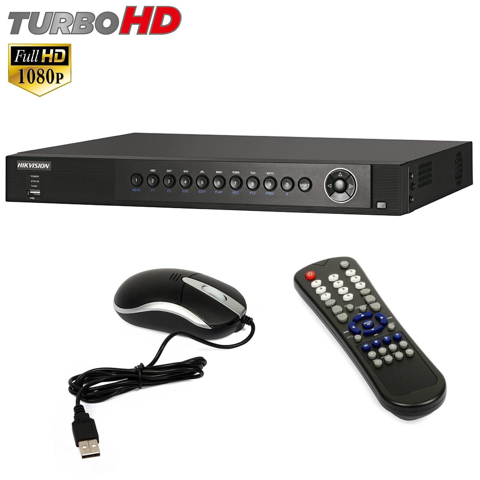 Dvr 8 Canali Videosorveglianza HIKVISION Turbo HD FULL 1080P HDMI DS-7208HQHI