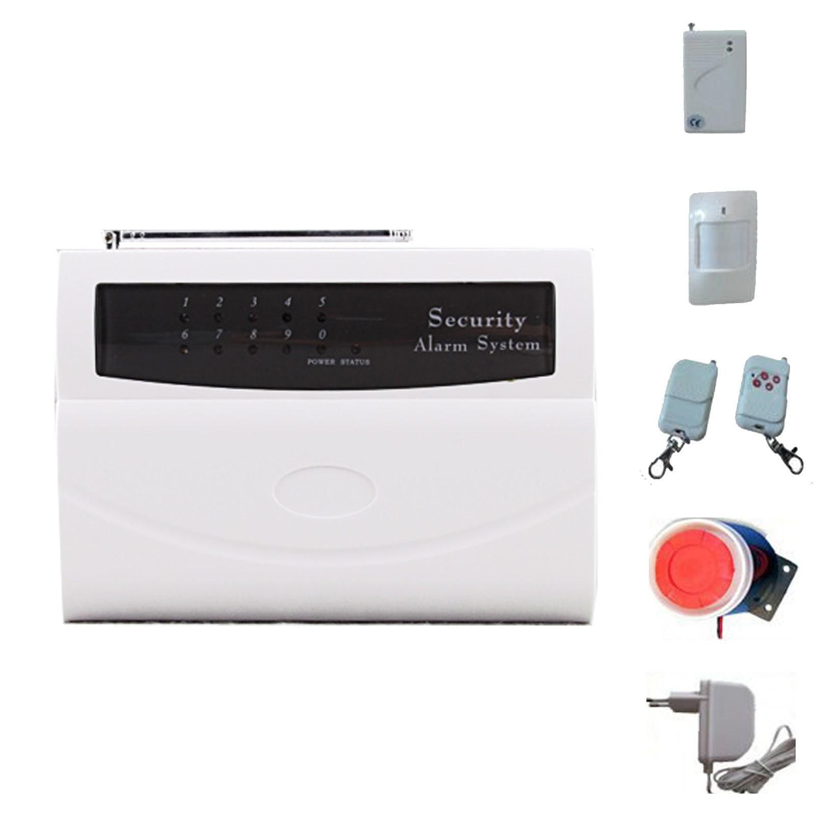 Kit antifurto allarme 2800 casa wireless senza fili sirena sensore combinatore area illumina - Antifurto casa senza fili migliore ...