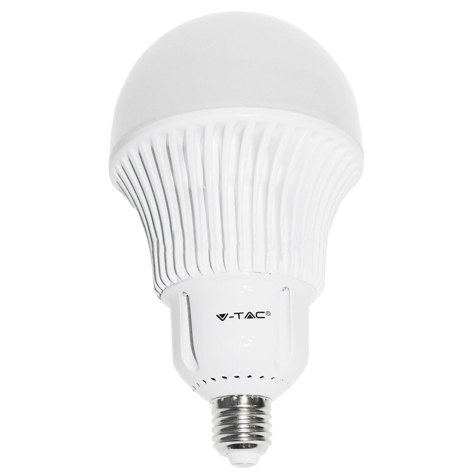 lampadina watt : Lampadina Lampada Led Bulb V-TAC E27 A120 30 WATT Luce Bianca Natura ...