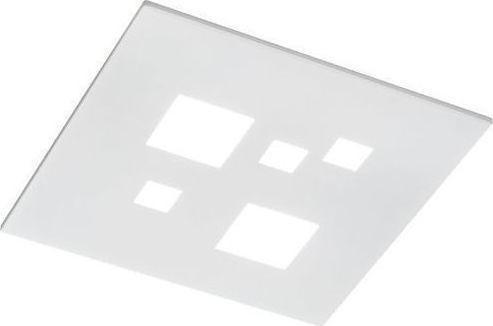 Perenz Plafoniera in metallo bianco Led 27W 1944lm 3000K