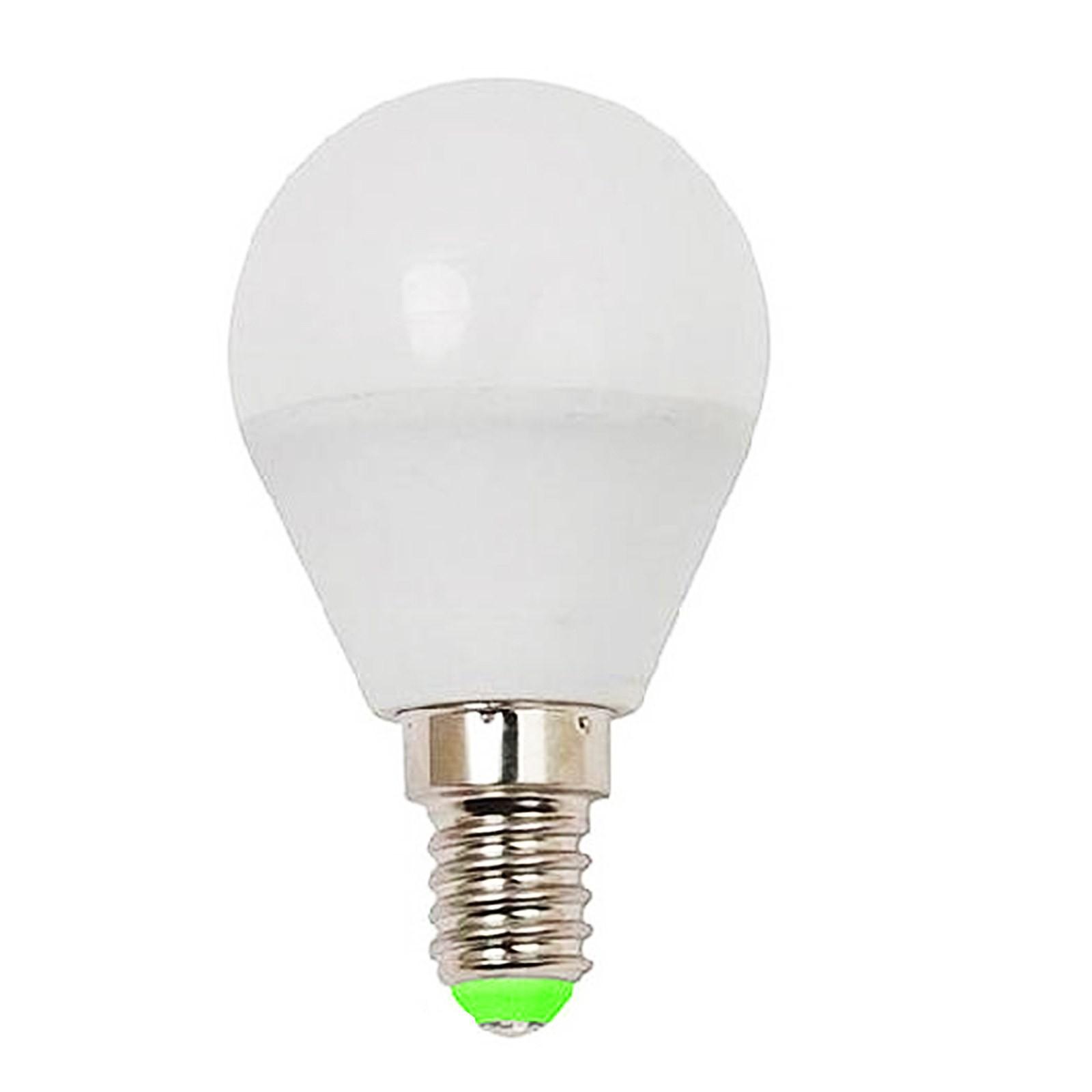 Lampada lampadina a led attacco e14 5 watt minisfera luce for Lampadina lunga led