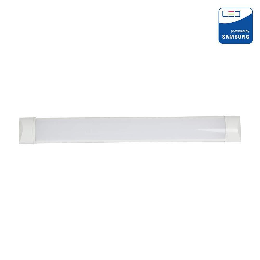 Plafoniera Lampada Led Samsung Neon 40 W Luce Bianca Fredda 6400 K 4800 Lm 120Cm