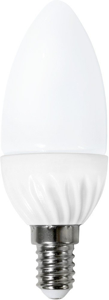 Lampadina Led Forma Candela 4W Attacco E14 Luce Bianca Calda 2700 K 320 Lumen