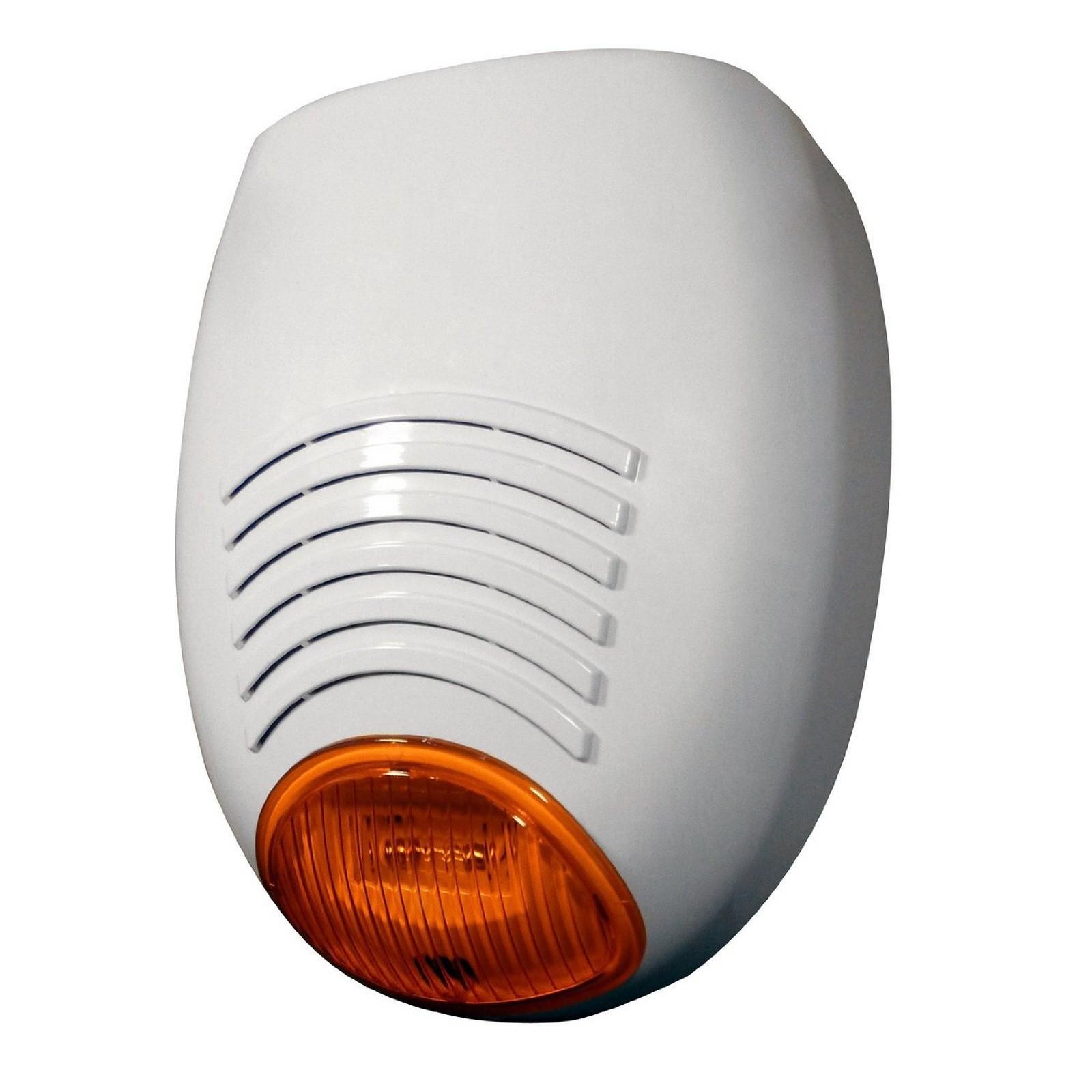Sirena esterna per allarme autoalimentata lampeggiante amc - Citofono per casa prezzi ...