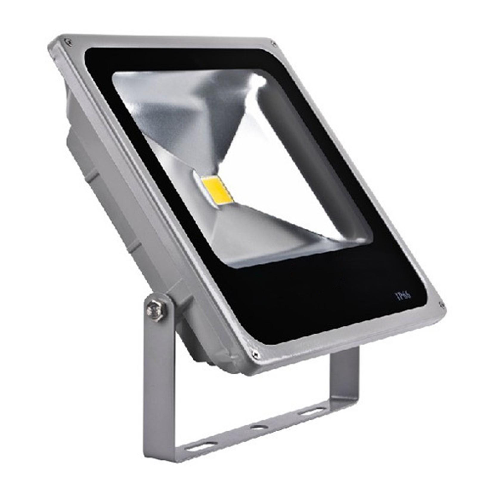 Faro faretto a led 50 watt per esterno slim illuminazione for Led esterno