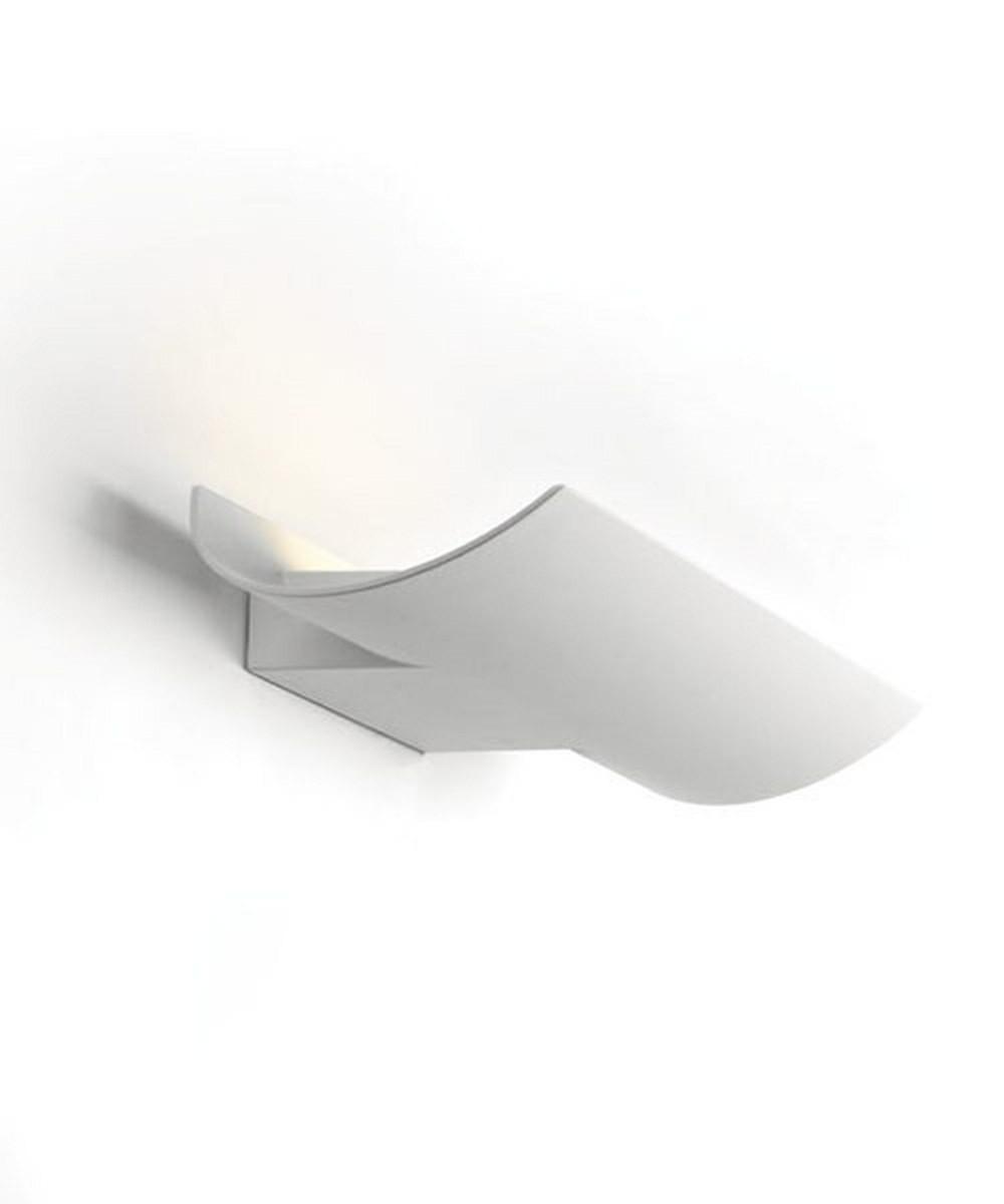 PAN LAMPADA ONDA DA PARETE LED 15W 3000K BIANCO IP54