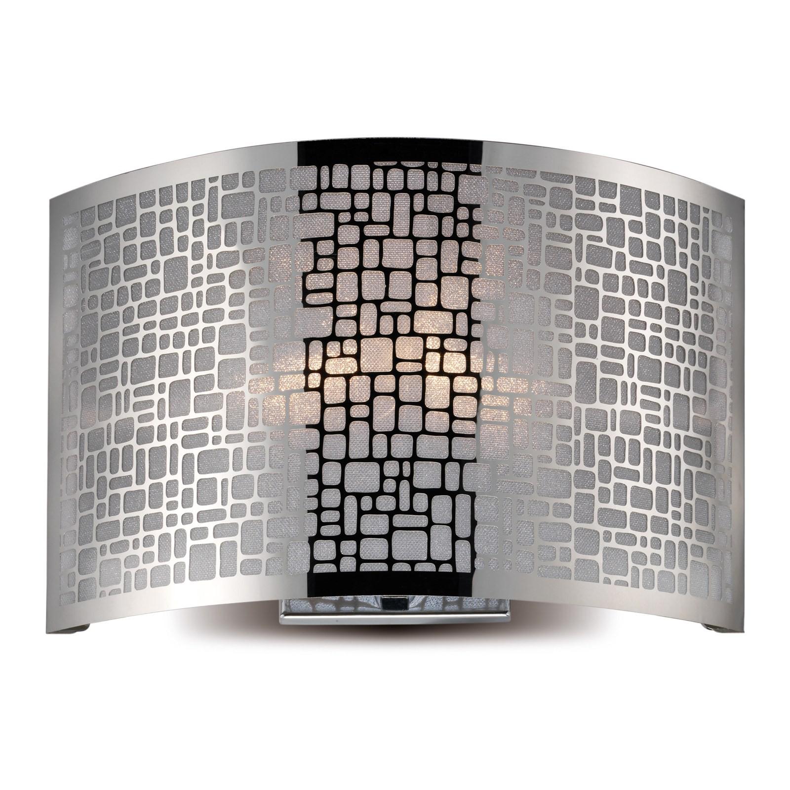 Applique Lampada da parete in Acciaio Ariel PAN Luce Corridoio ...