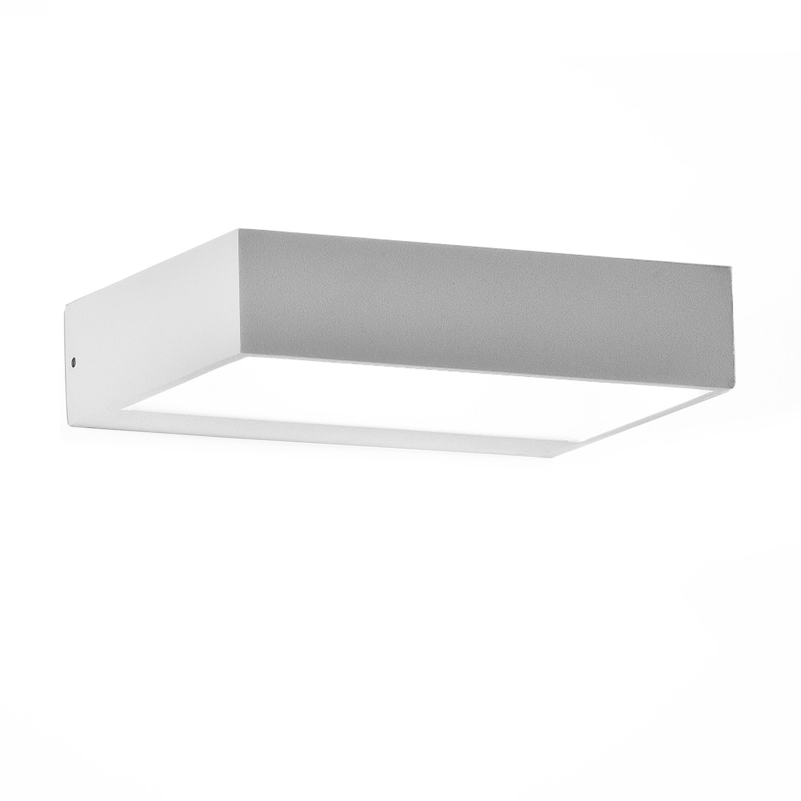 Applique lampada da parete in alluminio led 6 watt design for Applique da interno