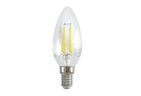 LIFE LAMPADA LED CANDELA C35 serie Filament Trasparente, E14, 4W,FA320