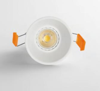 ISYLUCE Faretto Simplie cono da incasso alluminio bianco attacco gu10