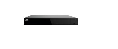 LIFE XVR H265 5in1, 8CH-AHD 1080H/16CH-IP 1080p, HDMI 4K, AUDIO, SLOTxHD