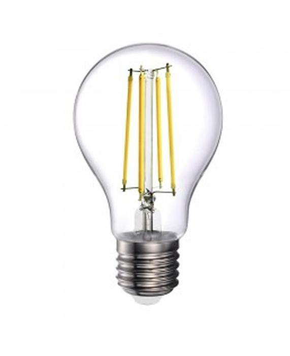 LED LAMPADINA - 12.5W FILAMENT E27 A70 CLEAR COVER 3000K