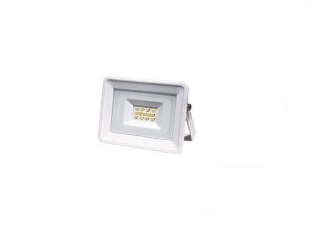 LIFE FARETTO SLIM BIANCO IP65, LED SMD Serie FA3, 10W, 110