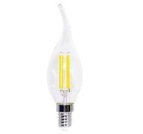 LIFE LAMPADA LED C.FIAMMA CF35,serie Filament Trasparente,E14, 6W,FA320