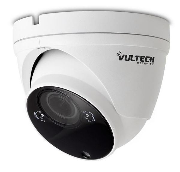 """Vultech Telecamera UVC 4in1 Dome  1/2,7"""" 5 Mpx 2.8-12mm varifocale 40Pcs Led IR SMD 30M"""