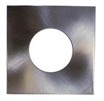 LIFE Frame quadrato per supporti serie 39.PS640*, colore Acciaio Satinato, Misure 84X84mm