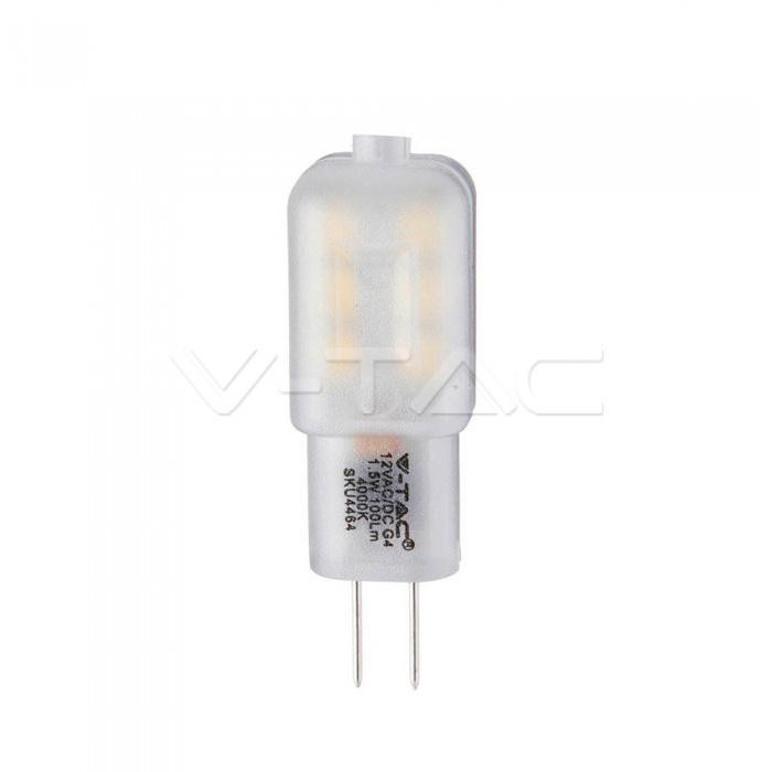 V-TAC Led lampadina samsung chip - g4 1.5w plastica 4000k