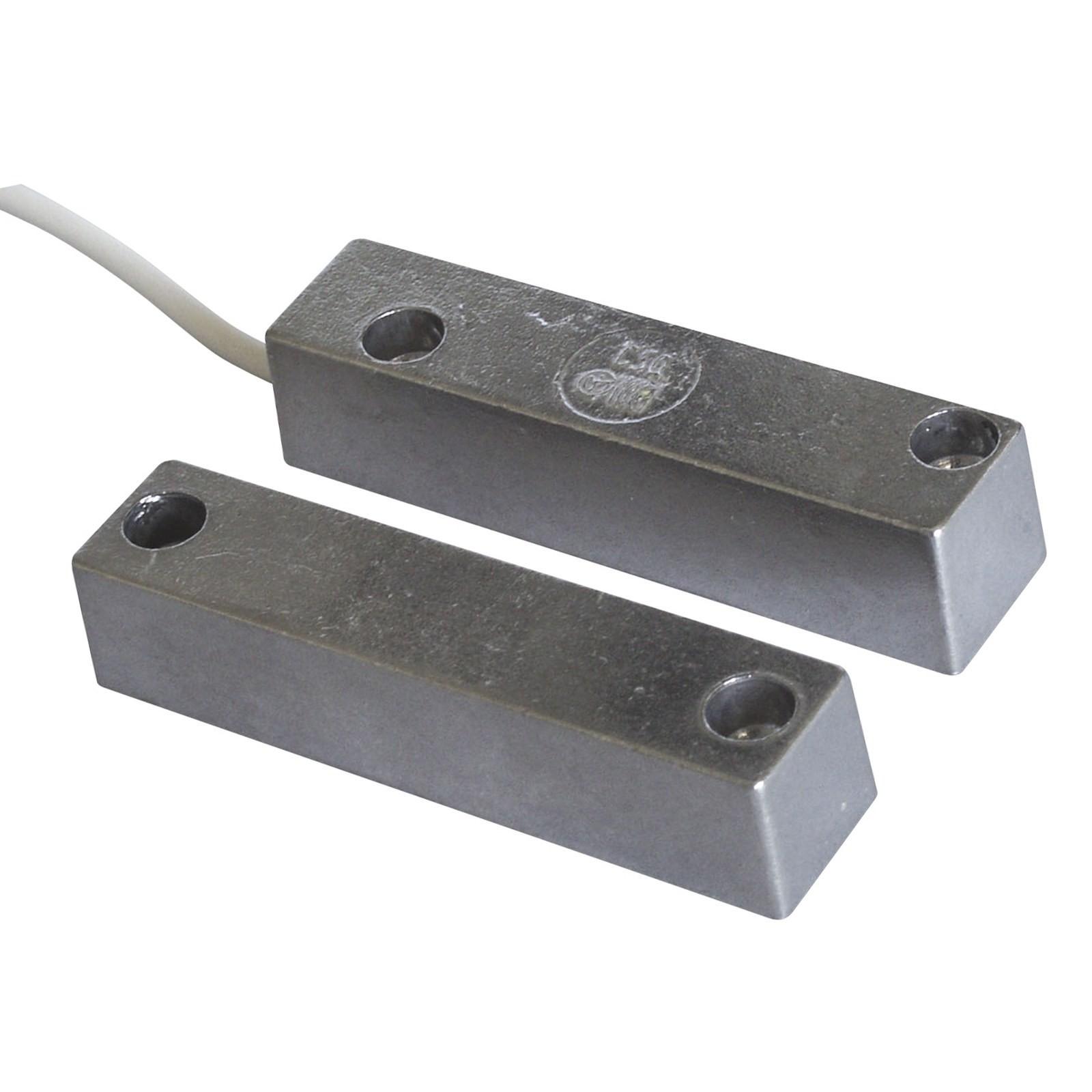 Contatto magnetico allarme antifurto in alluminio per porte contatti magnetici area illumina - Contatti magnetici per finestre vasistas ...
