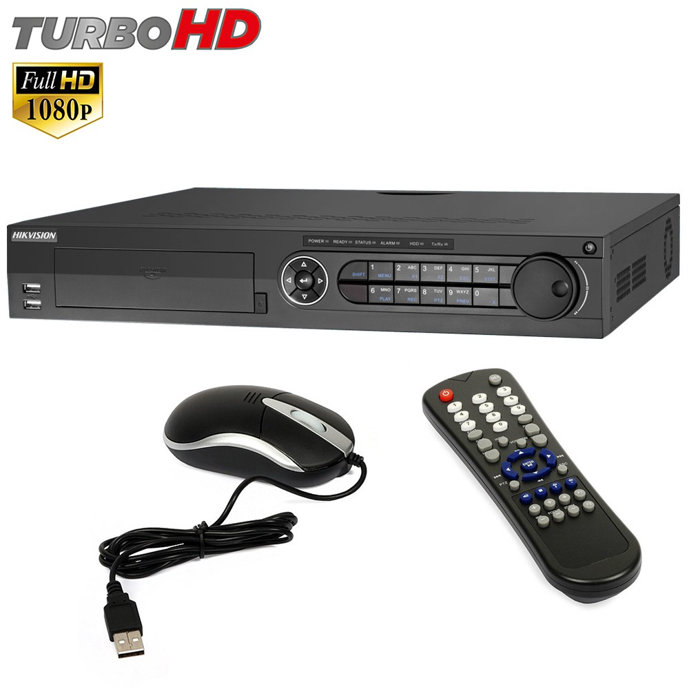 Dvr 16 Canali HIKVISION TURBO FULL HD 1080P Telecamera IP H264 DS-7316HQHI-SH