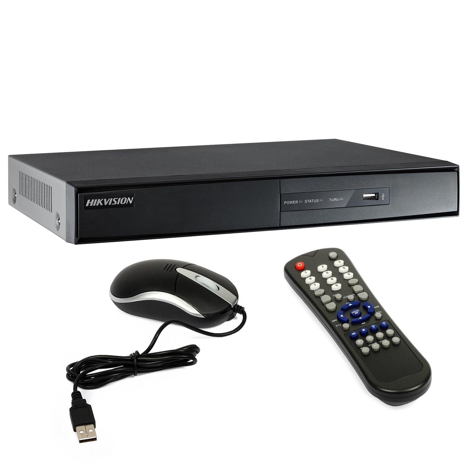 Dvr 8 CH Canali Videosorveglianza H264 HD HDMI LAN VGA USB Telecamere HIKVISION