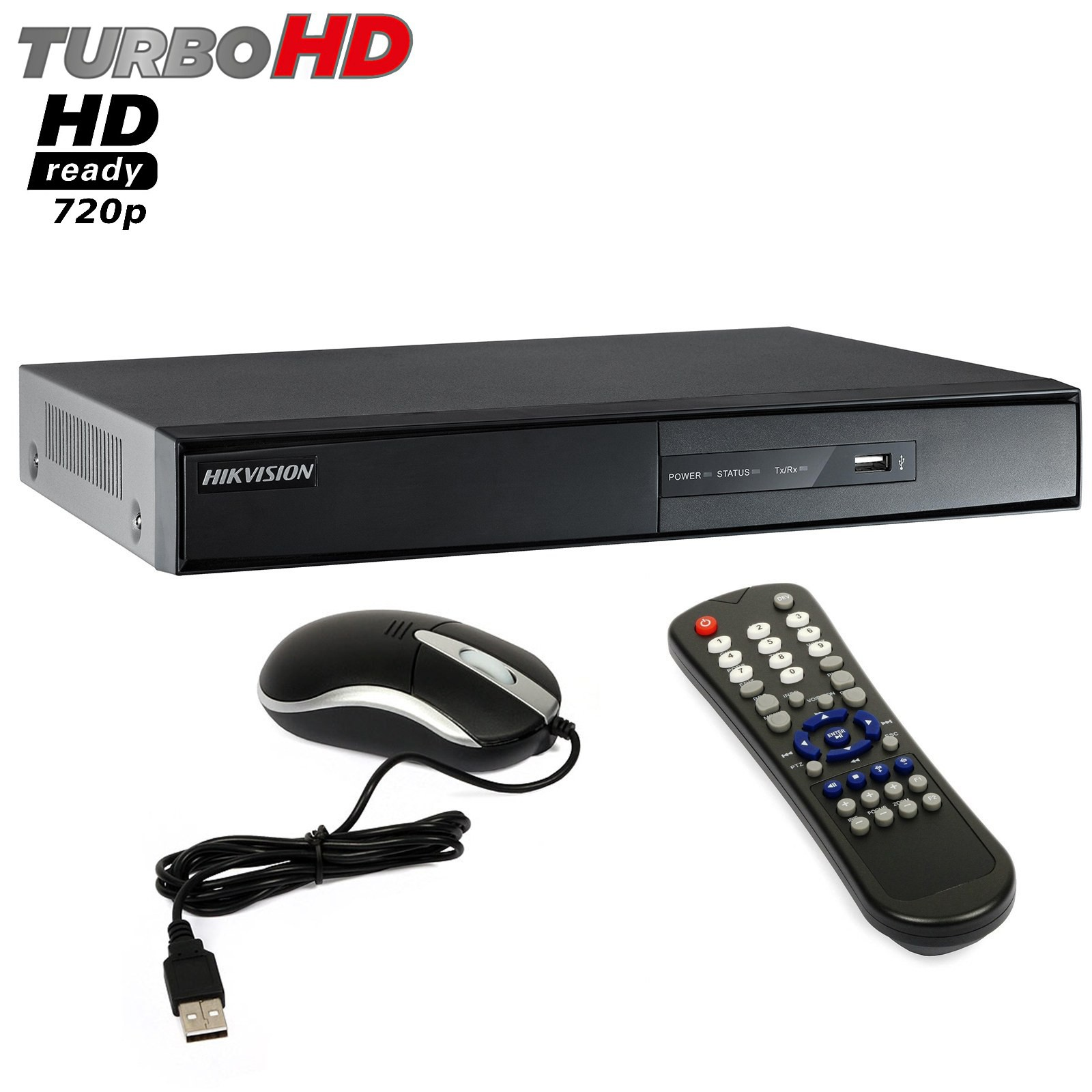 Dvr 16 Canali HIKVISION Turbo HD Ready 720P VGA HDMI H.264 LAN DS-7216HGHI-SH