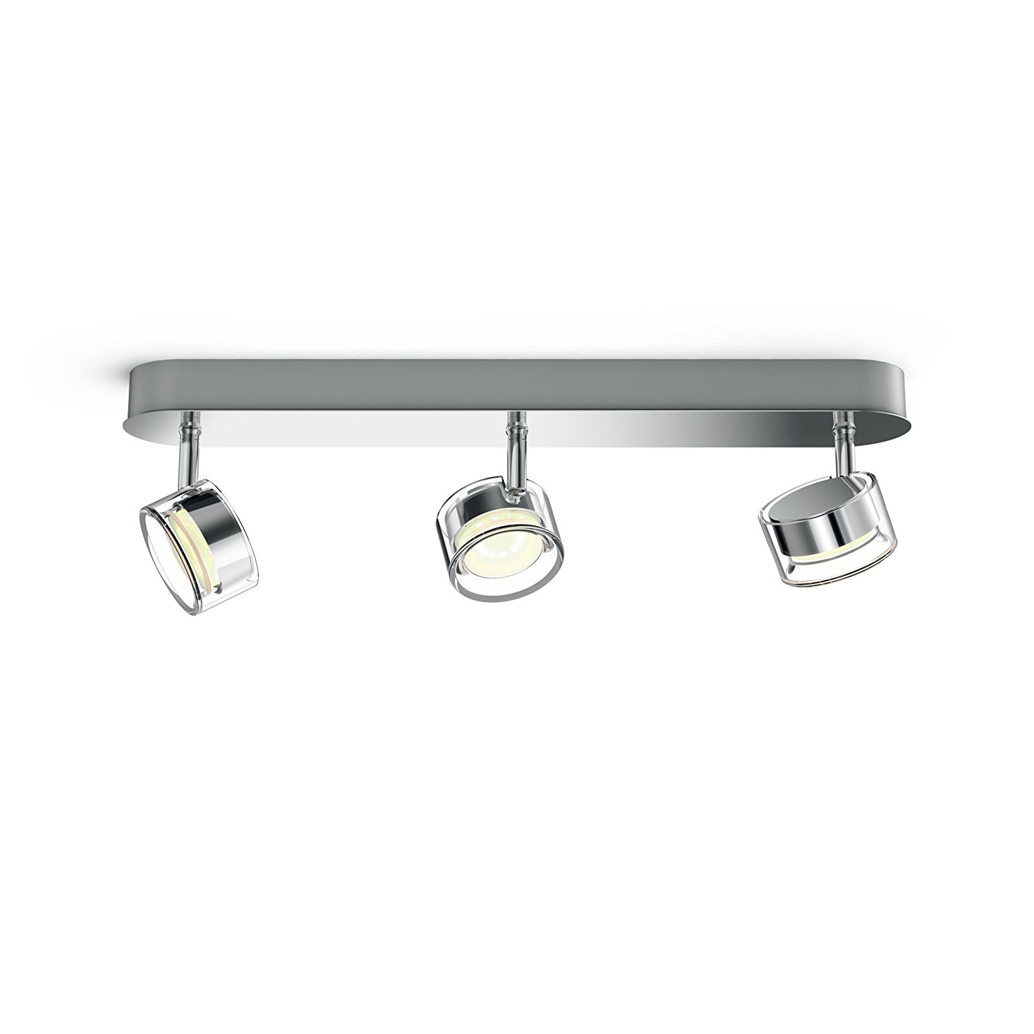 Faretti a led spot myliving philips worchester cromo for Catalogo led philips