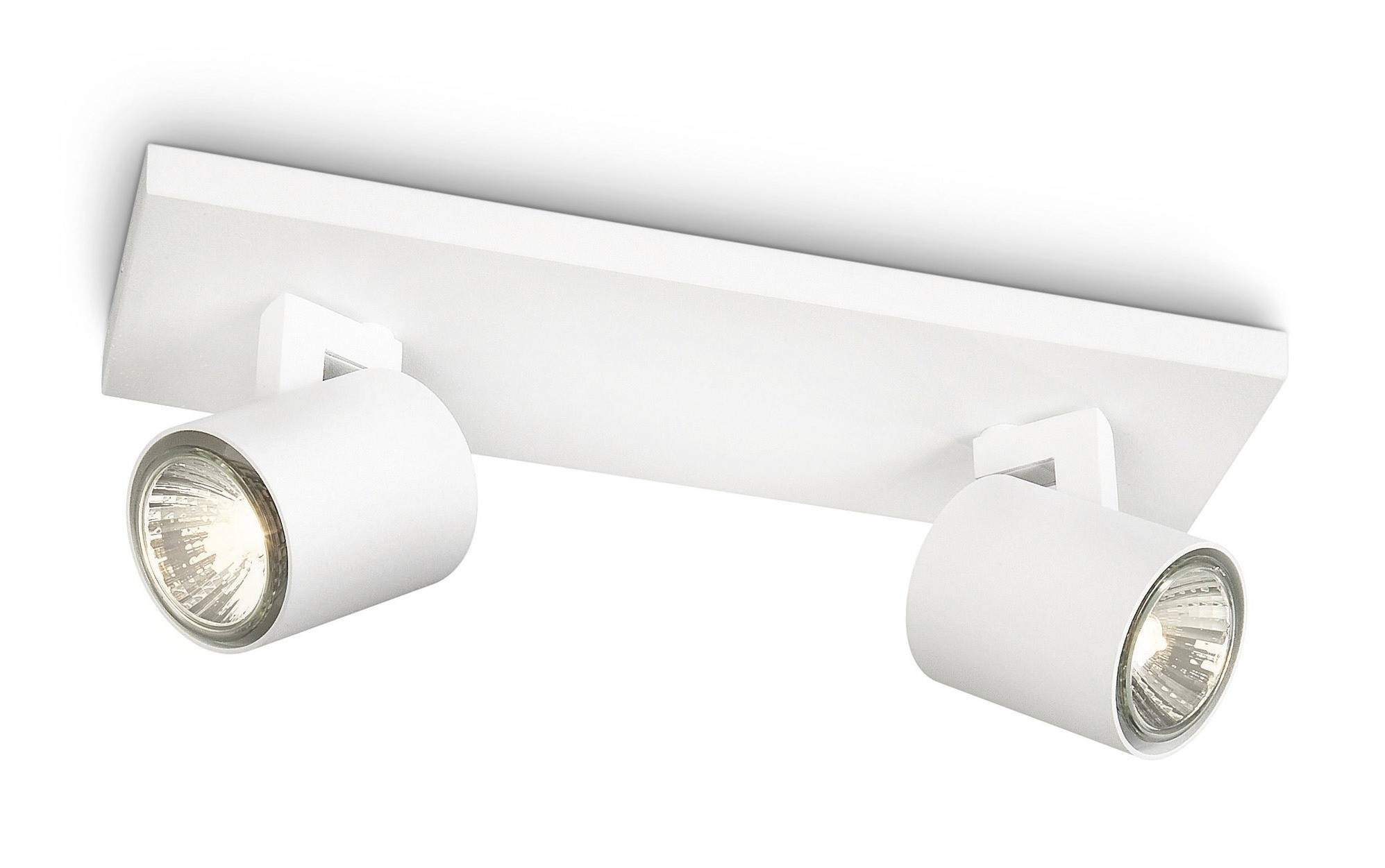 Faretti a led spot philips runner bianco area illumina