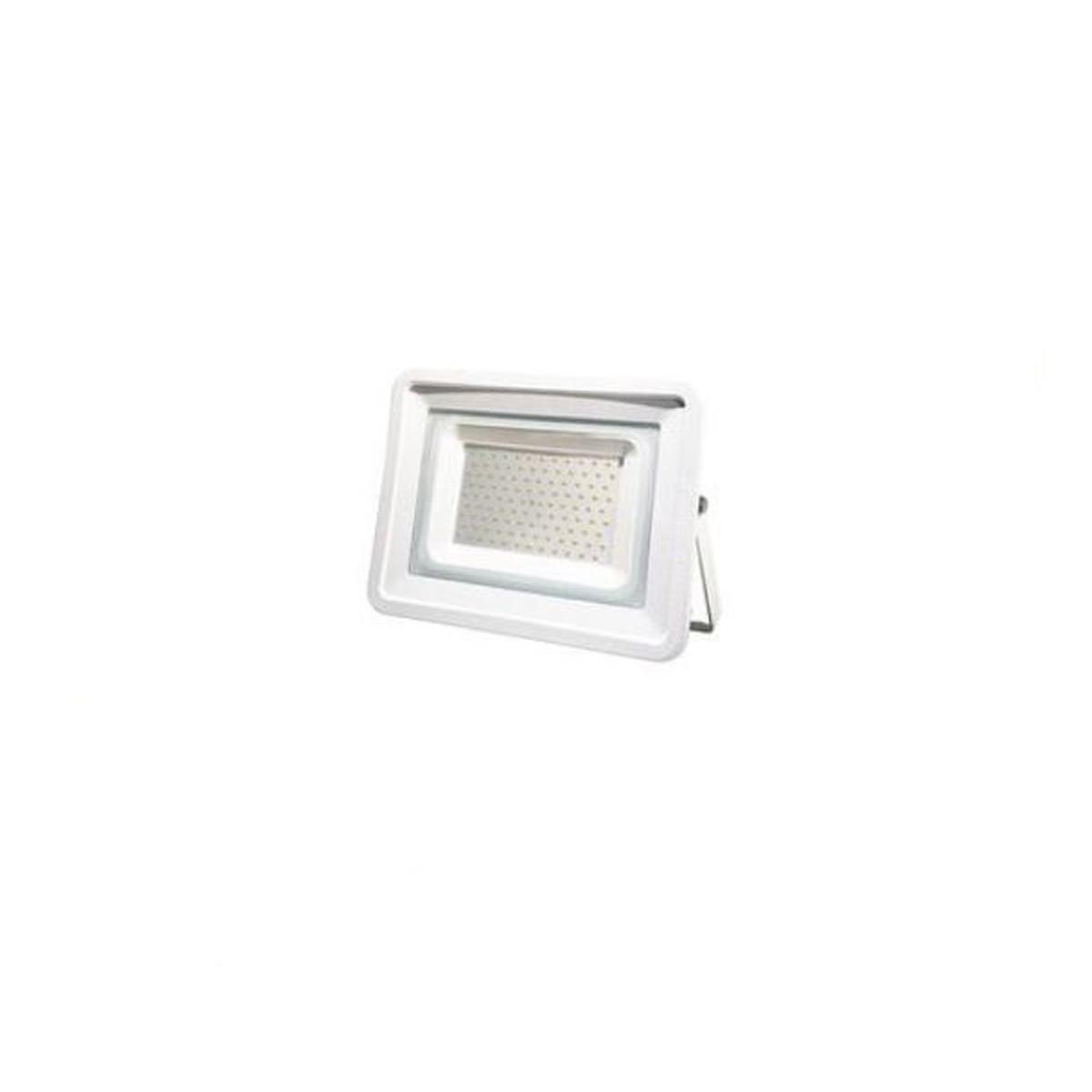 LIFE FARETTO SLIM BIANCO IP65, LED SMD Serie FA3, 100W, 110