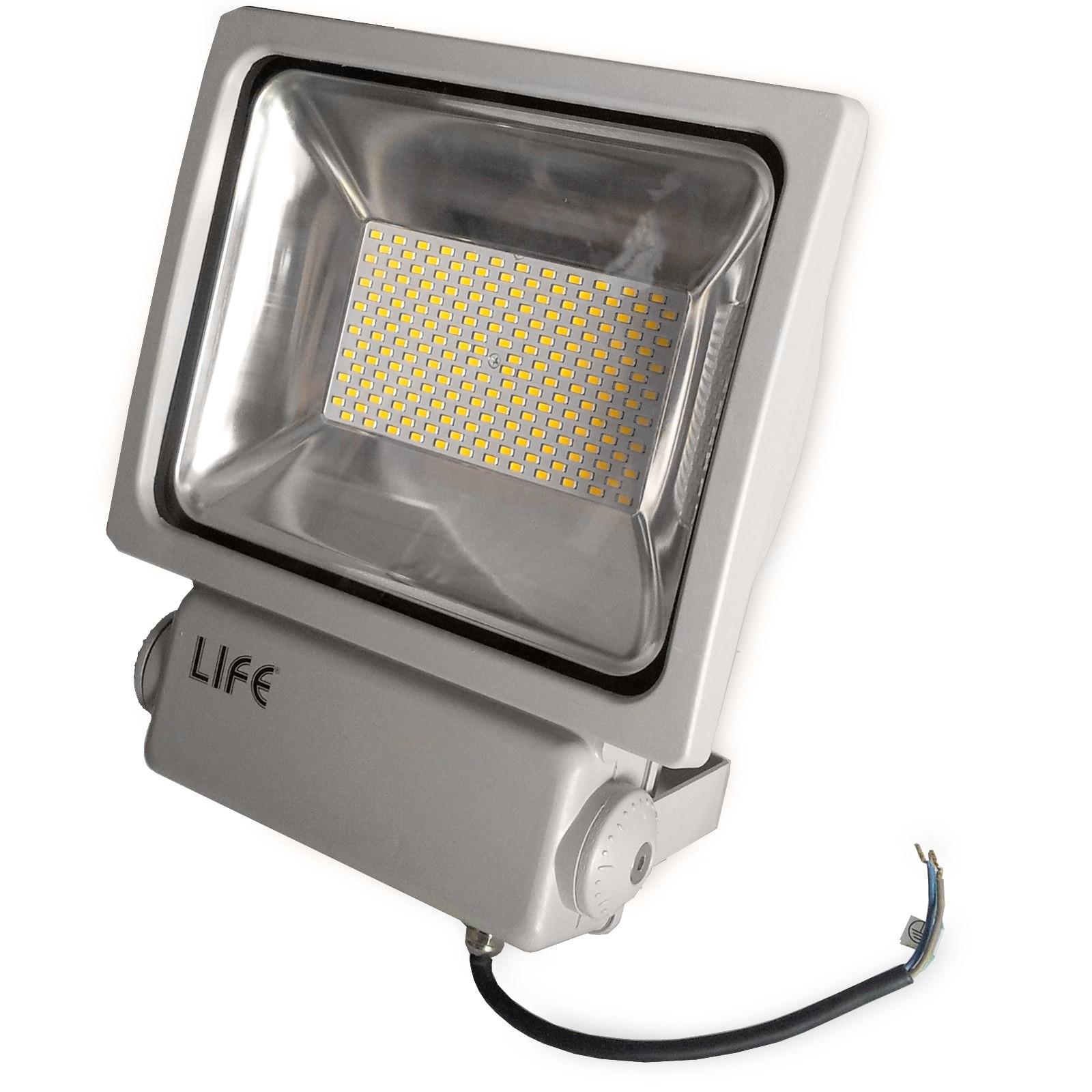 Faretto Faro Led GH1 100 Watt 9000 Lumen per Esterno Luce Bianca Naturale LIF...