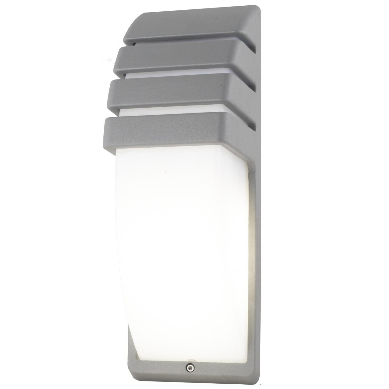Plafoniera applique lampada led design a parete light in alluminio esterno e27 area illumina - Lampade da esterno da parete ...