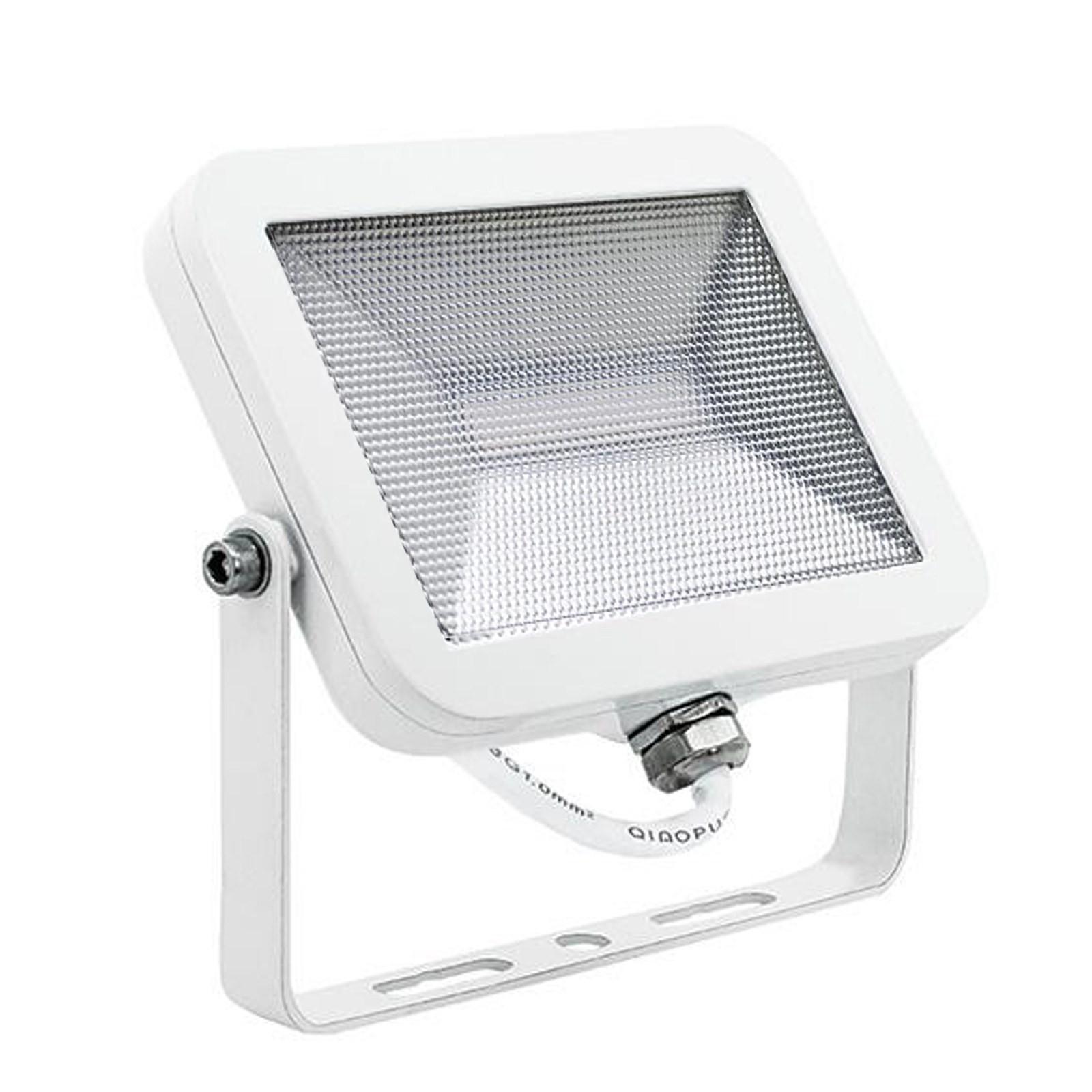 faro faretto led esterno slim bianco 20w luce naturale. Black Bedroom Furniture Sets. Home Design Ideas