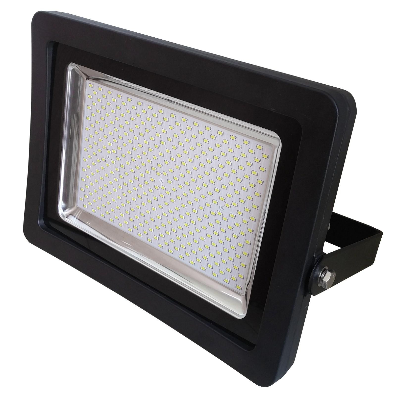 faro faretto led slim da esterno smd ip65 200w 200 watt luce bianca fredda area illumina. Black Bedroom Furniture Sets. Home Design Ideas