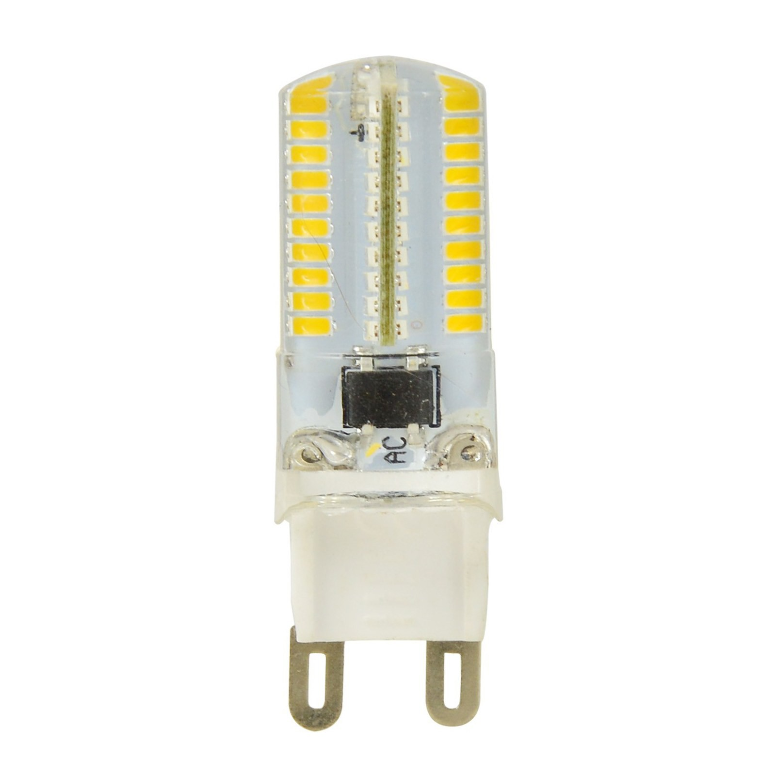 lampada led lampadina attacco g9 luce bianca calda smd life 3 watt 210 lumen area illumina. Black Bedroom Furniture Sets. Home Design Ideas