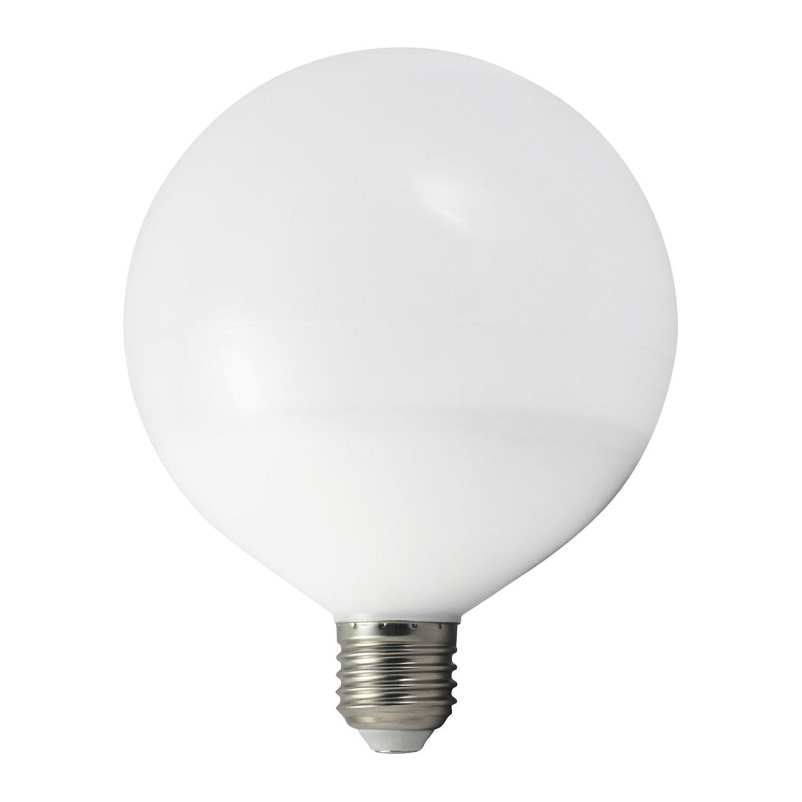 Lampada lampadina led attacco e27 12 watt globo luce for Luce bianca led