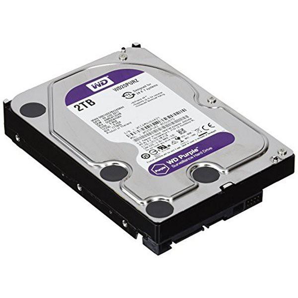 Western Digital hard disk 3.5 2tb sata 6 64mb 5.4rpm WD20PURZ CAVIAR PURPLE