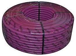 Tubo flex corrugato viola 20mm 100MT INSET