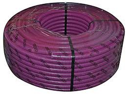 Tubo flex corrugato viola 25mm 50MT INSET