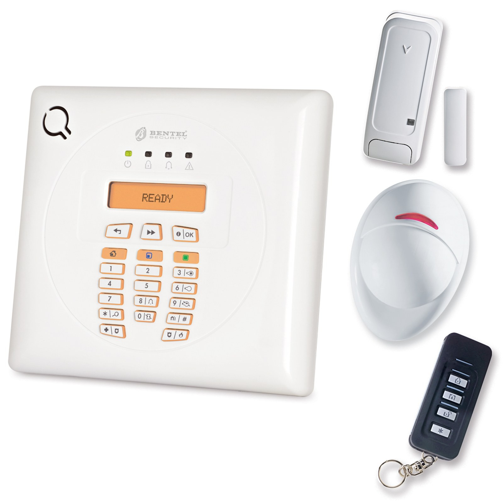Kit antifurto allarme wireless bentel bw 30 senza fili - Allarmi casa senza fili ...