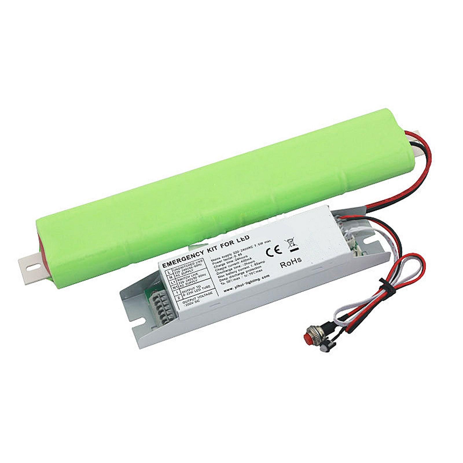 Kit di conversione batteria luci di emergenza per faretto for Lampada di emergenza a led